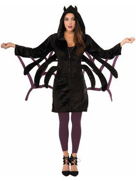 0bf54412269 Hoodie - Spider Adult Costume
