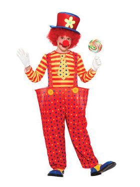 Hoopy the Clown Costume for Boys