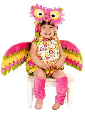 Girl's Classic Hootie the Owl Costume