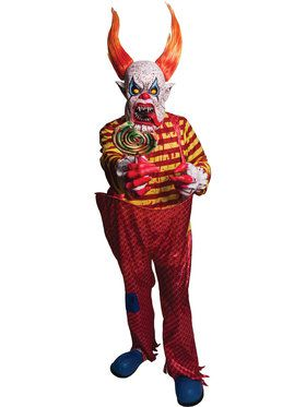 Horned Freak Clown Costume