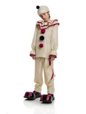 Horror Clown Boy's Costume