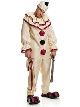 Horror Clown Costume Men's Costume