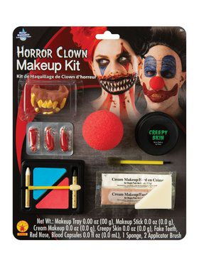 Horror Clown Makeup Kit