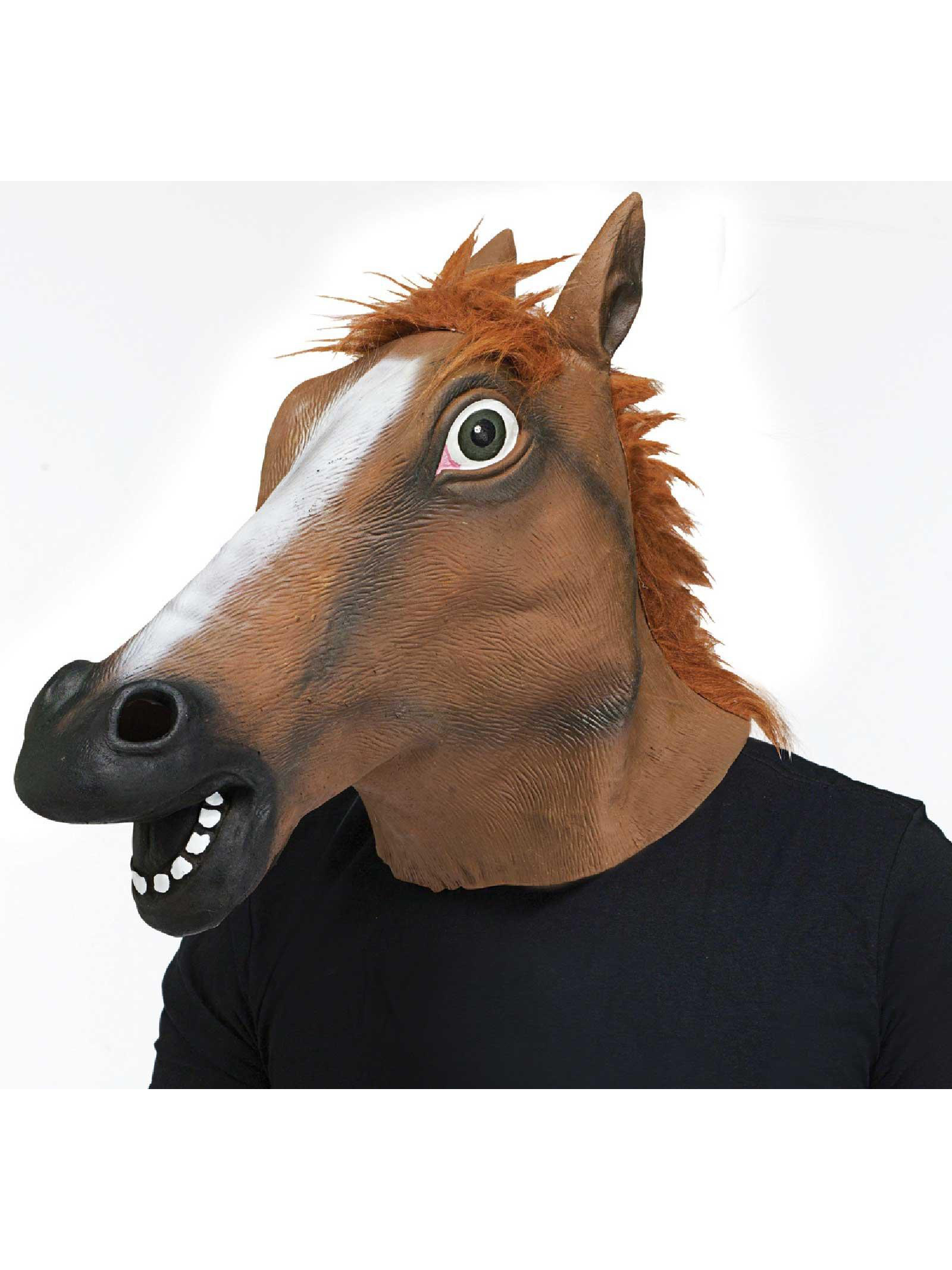 Fun World Horse Head Adult Mask