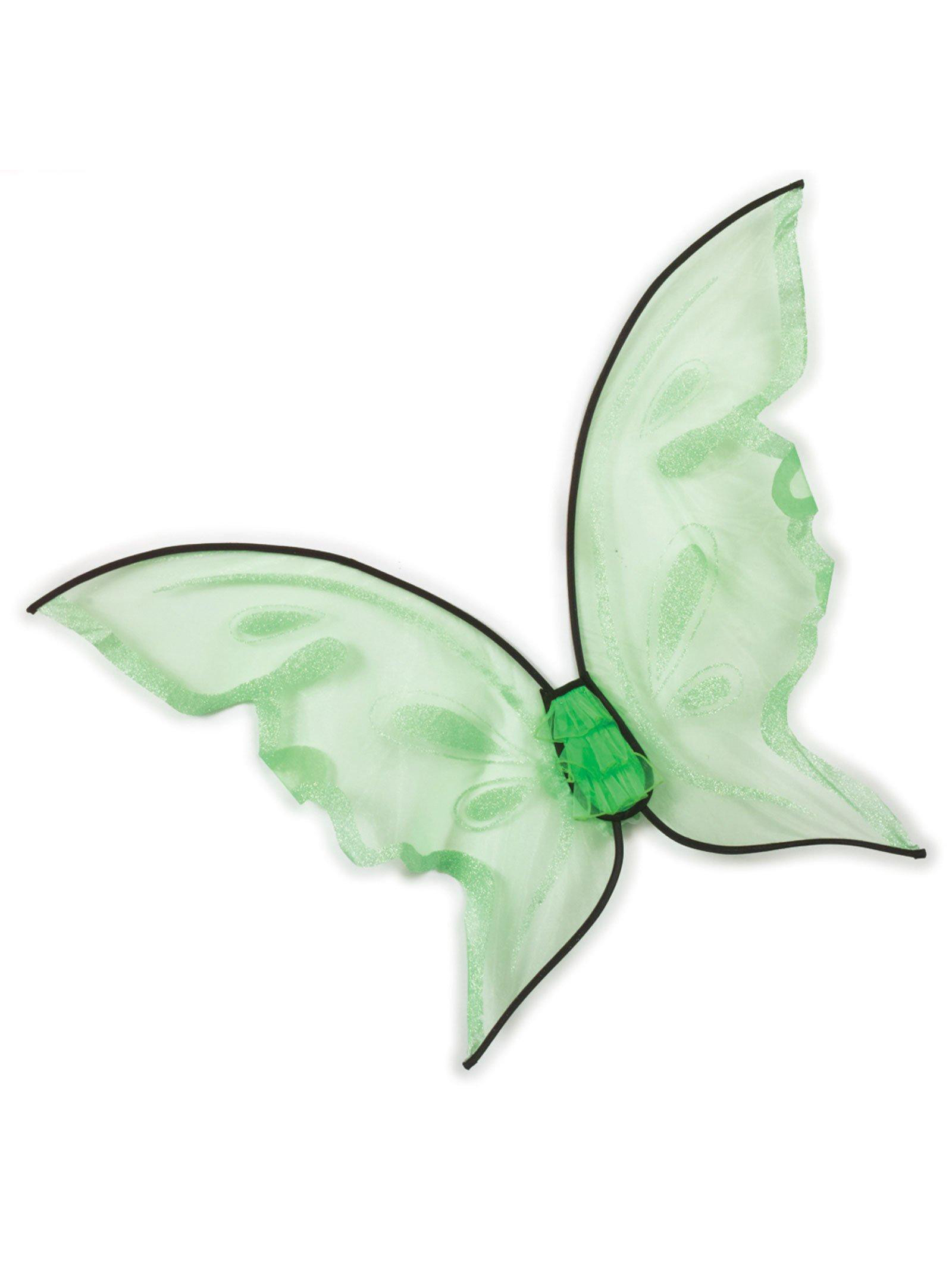 Hot Color Butterfly Wings - Green FW90456G