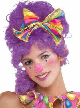 Hot Pink Clown Nose