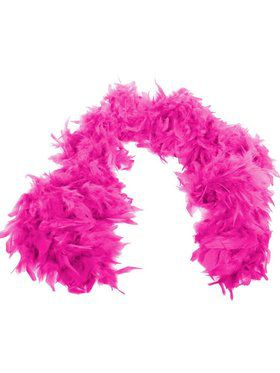 Hot Pink Fashion Boa