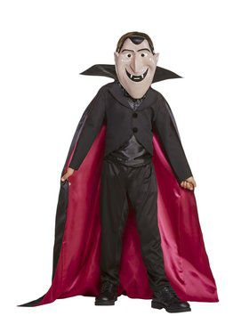 Child Count Dracula Costume- Hotel Transylvania