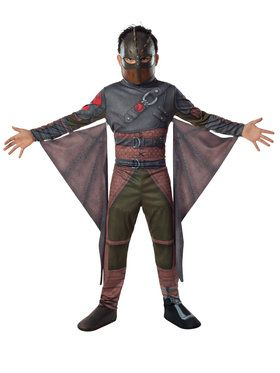 How to Train your Dragon Hiccup Boy's Costume
