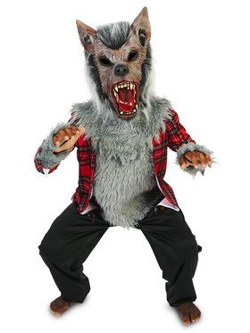 Howling Werewolf Costume For Children