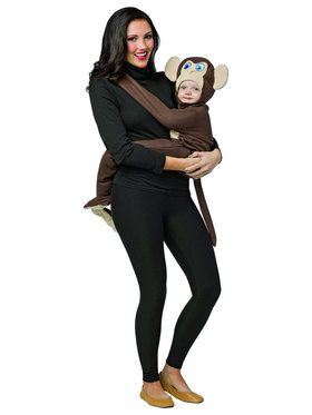 Huggables Monkey Infant Baby Costume