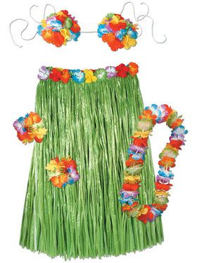 Hula Set Women's Costume