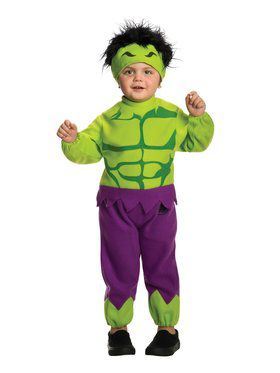 Toddler Hulk Costume