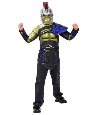 Kid's Gladiator Hulk Costume Set