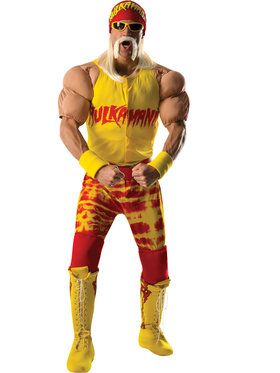 Hulk Hogan Grand Heritage Men's Costume
