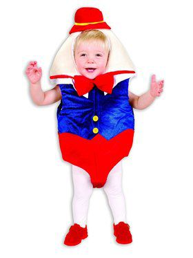 Infant's Humpty Dumpty Costume