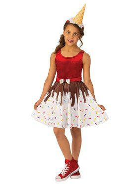 Ice Cream Girl Costume for Kids