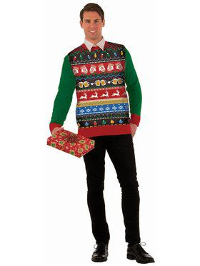 Icons Christmas Sweater Costume Top