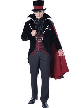 Immortal Vampire Groom Costume Men's Costume