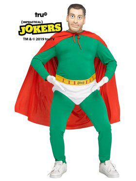 Impractical Joker's Captain Fat Belly Costume