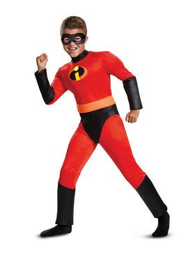 Incredibles 2: Classic Muscle Child Dash Costume