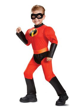 Dash Incredibles 2 Toddler Classic Muscle Costume