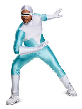 Frozone Deluxe Adult Incredibles 2 Costume