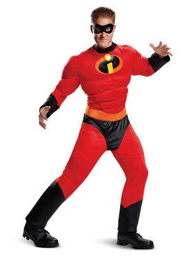 Mr. Incredible Incredibles 2 Classic Muscle Adult Costume