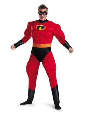 Incredibles 2 Mr. Incredible Plus Size Adult Muscle Costume