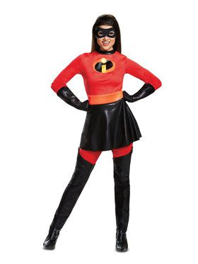 Incredibles 2 Deluxe Skirted Mrs. Incredible Adult Costume  sc 1 st  Wholesale Halloween Costumes & Superhero Halloween Costumes at Low Wholesale Prices