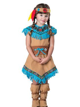 Indian Girl Costume Toddler