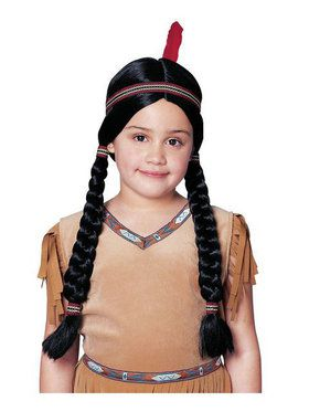 Indian Girl Wig Child