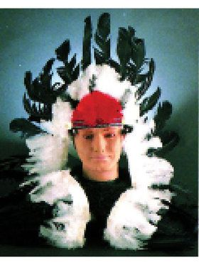 Native American Classic Feathered Headdress