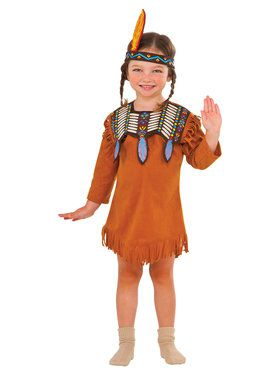 Indian Maiden Costume Toddler