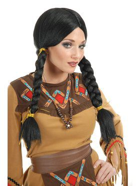 Women's Native American Maiden Wig