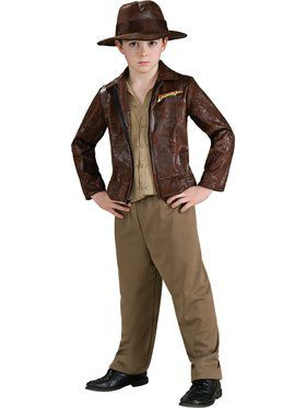 Indiana Jones Deluxe Children's Costume