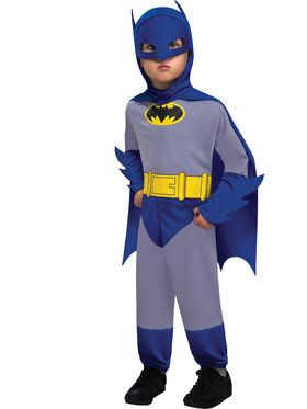 Infant Blue and Gray Batman Costume