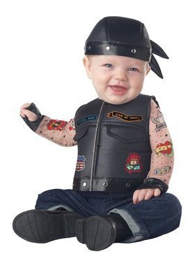 Infant Born To Ride Costume