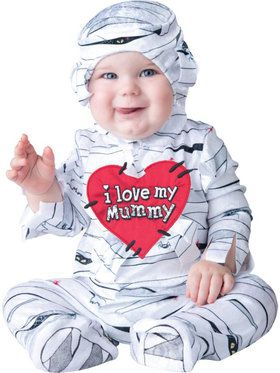 Infant/I Love My Mummy Costume Toddler