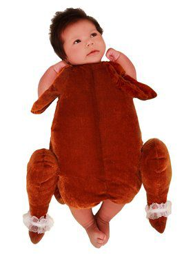 Infant Baby Little Turkey Costume