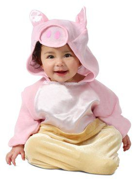 Pig in a Blanket Costume for Infants