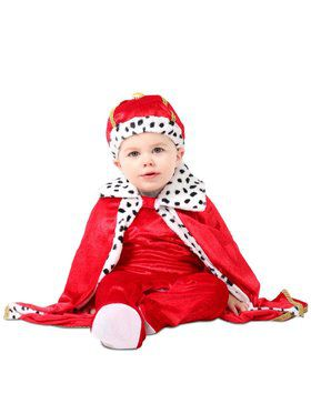 King Regally Royalty Costume for Infants