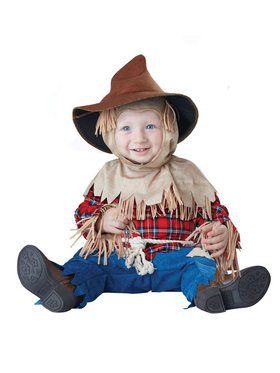 Funny Scarecrow Baby Costume