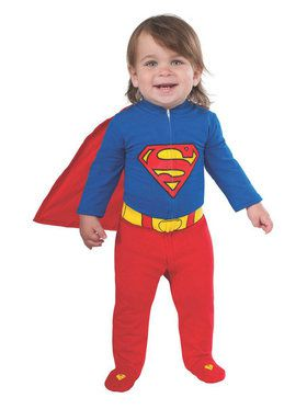 Superman Romper Infant Costume