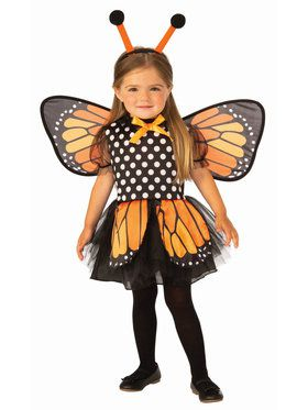 Kids Beautiful Monarch Butterfly Costume