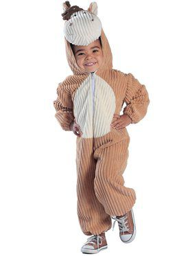 Corduroy Horse Infant Costume