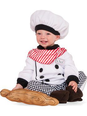 Little Chef Costume For Toddlers