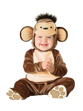 Infant Toddler Mischievous Monkey Costume