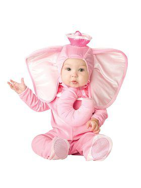 Infant Toddler Pink Elephant Costume