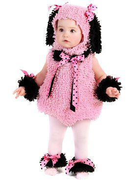Pinkie Poodle Toddler Costume
